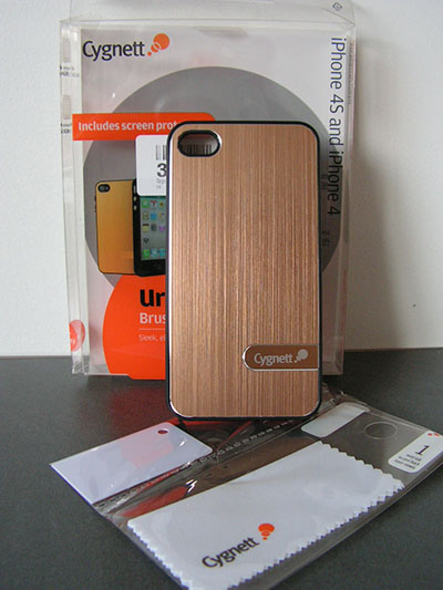 Test Coque iPhone 4S Cygnett UrbanShield - Info iDevice