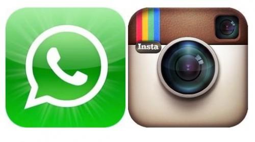 Whatsapp et Instagram - Info iDevice
