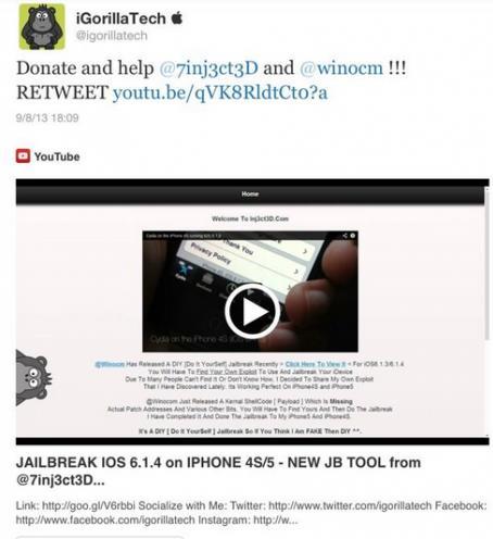 Winocm veut vendre son jailbreak untethered - Info iDevice