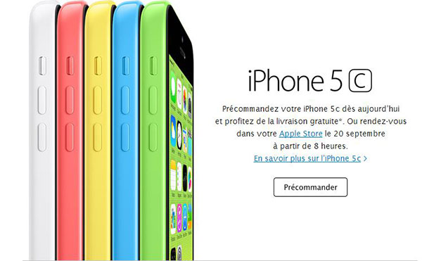iPhone 5C en pré commande - Info iDevice