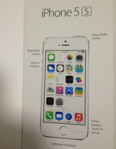 notice iPhone 5S - Info iDevice