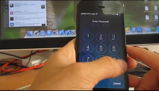 problème de sécurité Evernote iOS 7
