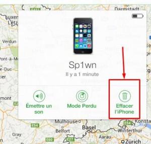 Erreur d'activation localiser mon iPhone-InfoiDevice