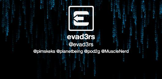 logo de la team Evad3rs qui a créé le jailbreak Evasi0n et bientôt le jailbreak ios 7.1