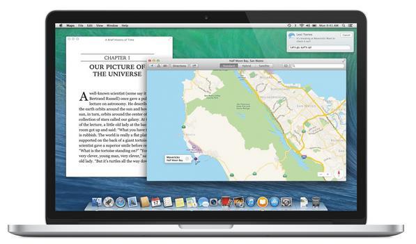 Mac OS X 10.10 Syrah-Info iDevice