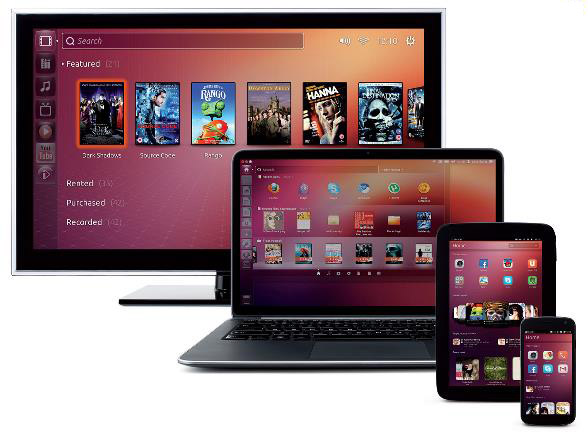 Ubuntu 13.10 Saucy Salamander pour PC Mac Server smartphone-Info iDevice