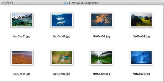 Wallpaper National Geographic OS X Mavericks-Info iDevice