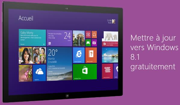 Windows 8.1 gratuit-Info iDevice