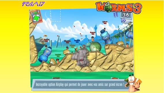 Worms 3 Halloween-Info iDevice