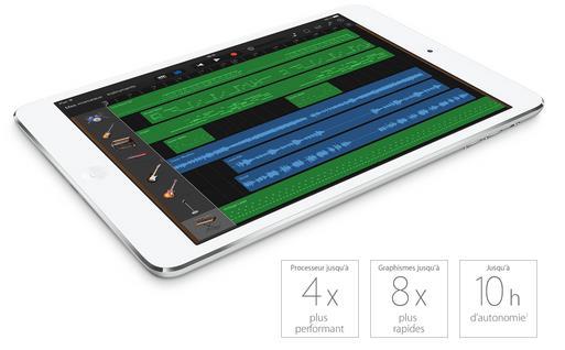 caractéristiques iPad mini 2 Retina-Info iDevice