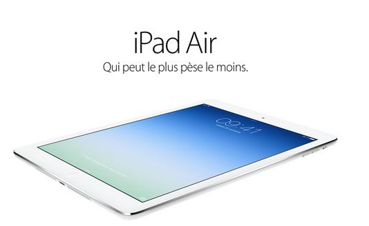 iPad Air-Info iDevice
