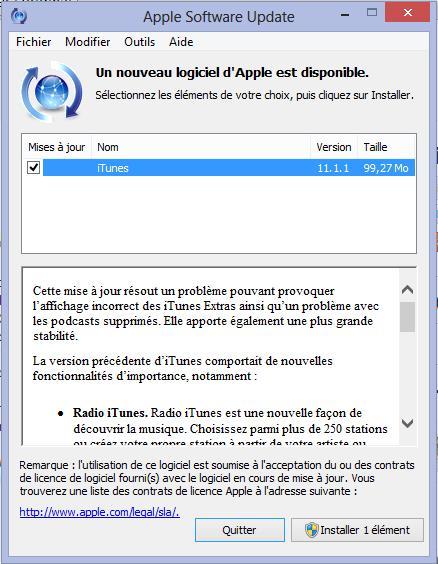 iTunes 11.1.1 - InfoiDevice