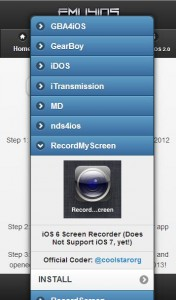 télécharger RecordMyScreen sans jailbreak-Info iDevice