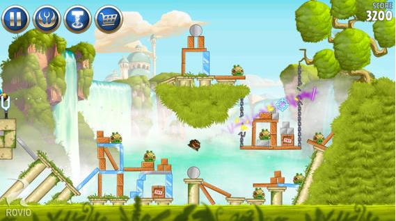 Angry Birds Star Wars 2 - mise à jour- Info iDevice