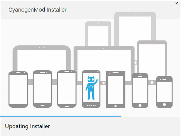 CyanogenMod Installer Windows-Info iDevice