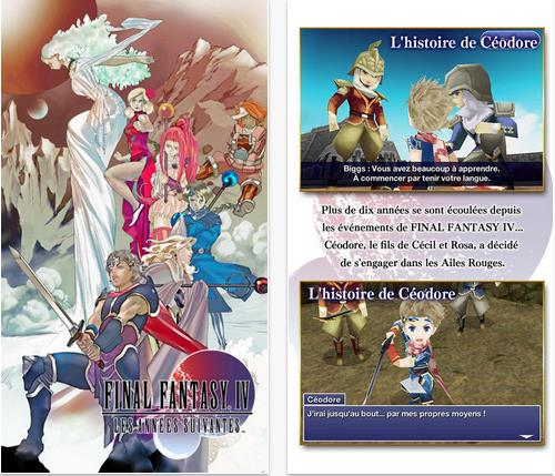 Final Fantasy IV iOS-Info IDevice