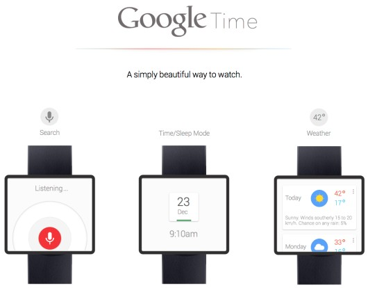 Google Time-Info iDevice