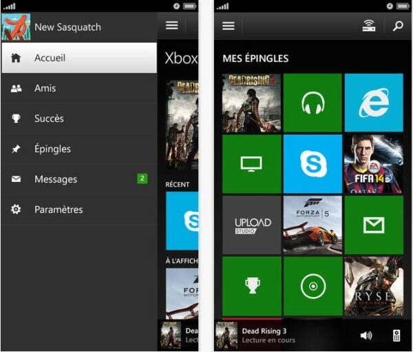 Xbox One SmartGlass iPhone et iPad-Info iDevice