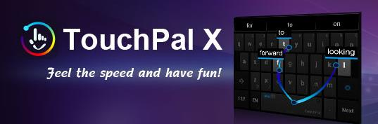 clavier rapide TouchPal X-Info iDevice