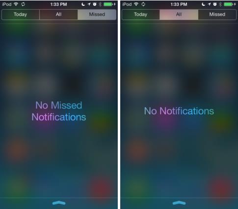 iOS 7.1 beta 1 centre de notifications-Info iDevice