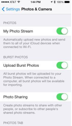 iOS 7.1 beta 1 photos en rafale-Info iDevice