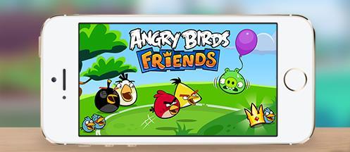 Angry Birds Friends Noël-Info iDevice