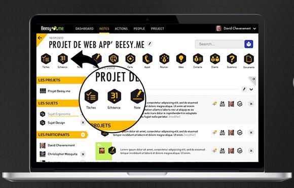 Beezy web app-Info iDevice