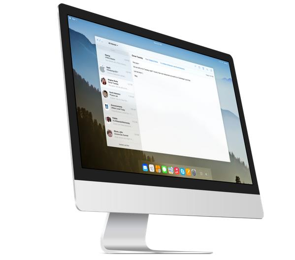 Concept OS X 11 - Info iDevice