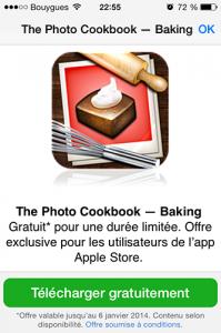Cuisine visuelle iTunes gratuit -Info iDevice