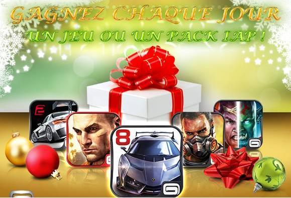 Gameloft fête Noël- Info iDevice