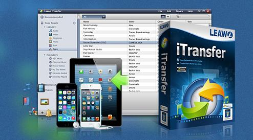 Leawo iTransfer alternative iTunes-Info iDevice