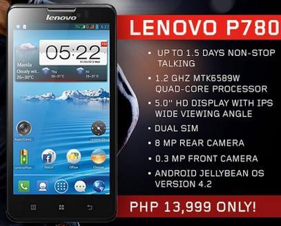 Lenovo P780-Info iDevice