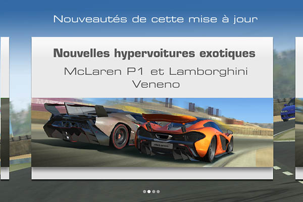 Real Racing 3 multijoueur en temps réel-Info iDevice
