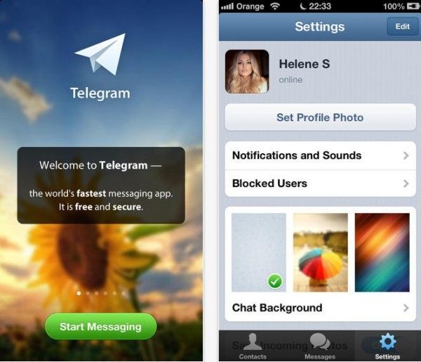 Telegram LLC pour iOS et Android-Info iDevice