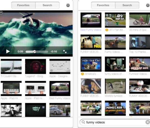iVideo HD youtube-Info iDevice
