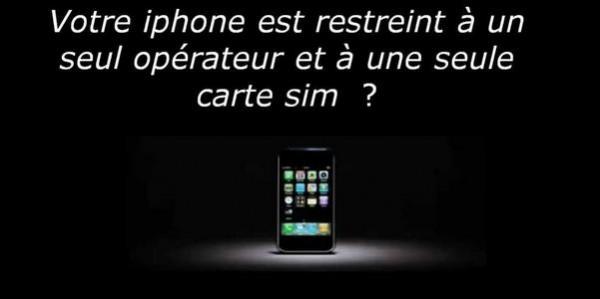 iphone bloqué sur un opérateur-Info iDevice