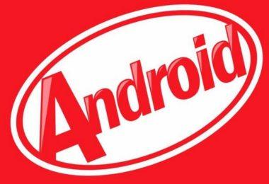image illustrant la dernière mise à jour Android 4.4 appelée KitKat par le biais d'un jeu de mot