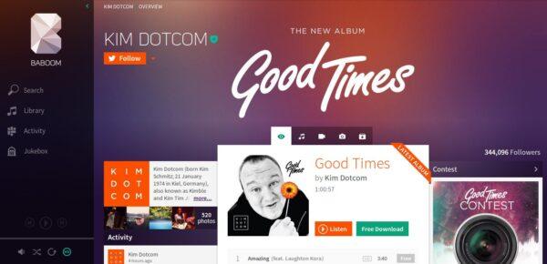 Baboom by Kim Dotcom-Info iDevice