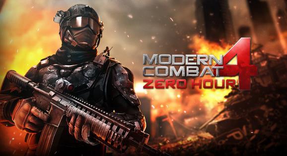 Modern Combat 4 Zero Hour-Info iDevice