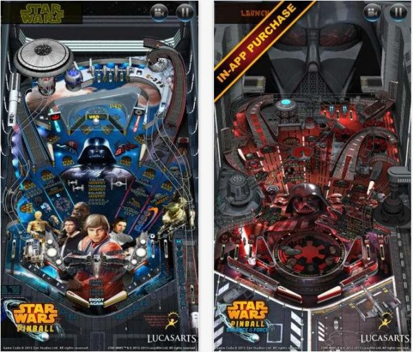 Screen Star Wars Pinball 2 iOS -Info iDevice