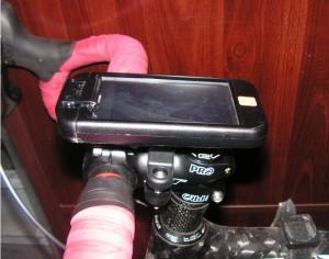 Test GPS ibike 2-Info iDevice