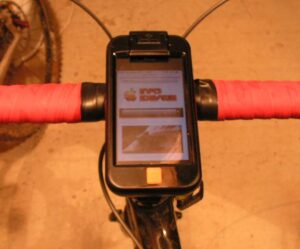 Test GPS ibike 3-Info iDevice