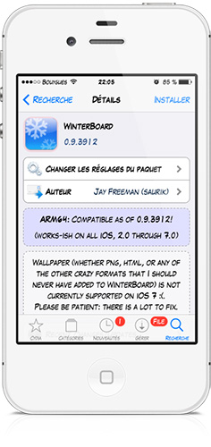 Winterboard iOS 7-Info iDevice