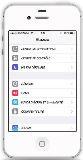 changer de police d'écriture iOS 7 avec Bytafont 2-Info iDevice