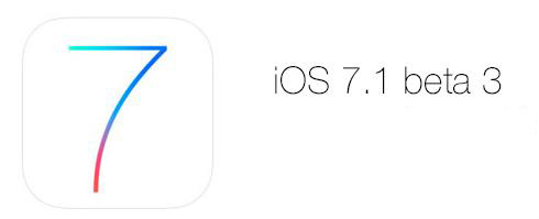iOS 7.1 beta 3 Apple -Info iDevice