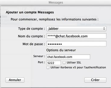 tuto ajouter chat facebook sur Messages Mac Pro-Info iDevice