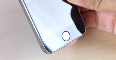 image d'un hypothétique iPhone 6 équipé d'un écran en verre saphir