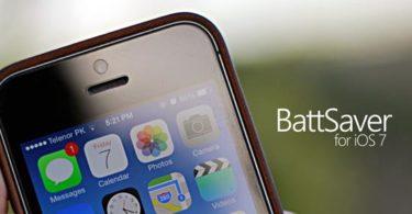 image de présentation pour BattSaver for iOS 7