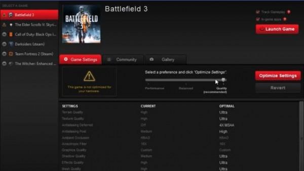 réglages des jeux pc pour les cartes graphiques AMD