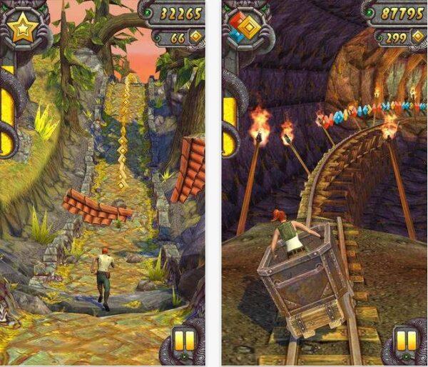 image du jeu Temple Run 2 Spécial Saint Valentin